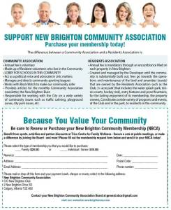 New Brighton Community Association membership form