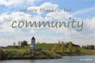 thankful for community